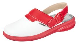 ABEBA Clog easy red